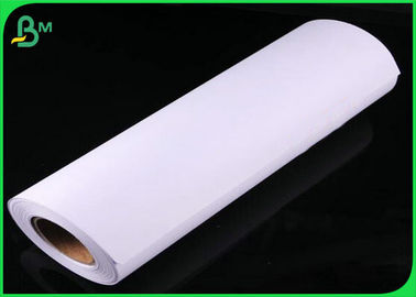 China Plotter CAD drawing paper 80 and 90 grams 24 36 inch 50m 100m lenght with 2inch core supplier