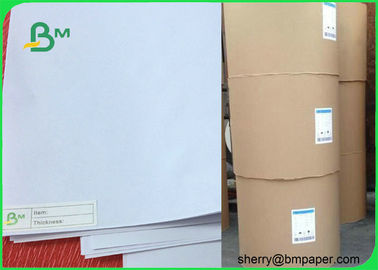 China Grade AA 80gsm Copier Paper Rolls for Printing / White Printer Paper supplier
