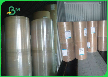 846mm 889mm White Uncoated Woodfree Paper Roll For Office Printing