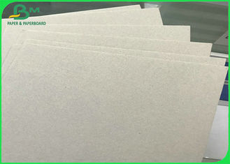China 300 - 2600gsm Recycled Grey Chip Board with Grey Back in Sheets for Hard Book Cover supplier