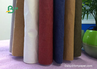 Natural Fibrous Pulp Recyclable Kraft Paper / White Kraft Paper Roll