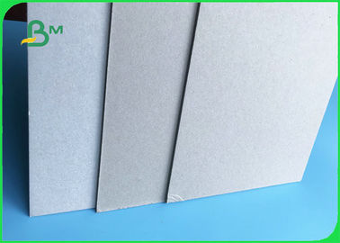 Recycled Pulp 3mm Two Sides Uncoated Laminated Grey Board Sheets With Grey Back For Packing