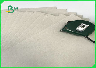 Excellent Stiffness 300g - 2000g Laminated Grey Board / Grey Cardboard For Book Binding Or Paper Boxes