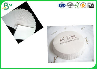 SGS Certification 350g White Uncoated Woodfree Paper / Absorbent Cardboard Paper For Cooling Pads Production