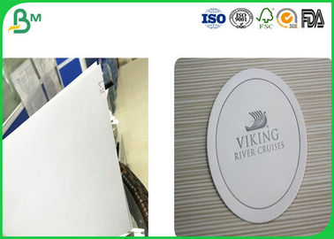 White Uncoated Woodfree Paper , Absorbent Cardboard Paper With Good Absorbency