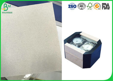400 - 1600g Smoothness Laminated Grey Board With Two Sides Grey Back For Packing Box