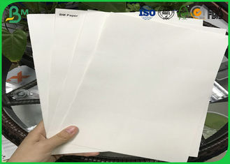 Good Absorbency Uncoated Woodfree Paper / 0.3mm - 3.0mm Absorbent Paper With 100% Wood Pulp