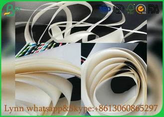 China September White Food Grade Paper Roll With The Straw Pipe Paper supplier