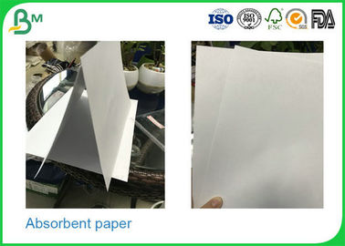 0.3mm - 2.0mm Thickness Uncoated Absorbent Cardboard Paper Rolls For Making Placemat