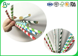 China Eco - Friendly And Compostable 24g 28g 30g 35g Drinking Straw Paper Rolls With White Color supplier