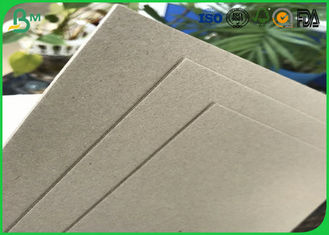 China High Stifiness 300gsm - 1500gsm 70*100cm Double Sides Uncoated Laminated Grey Board Sheets For Gifts boxes supplier