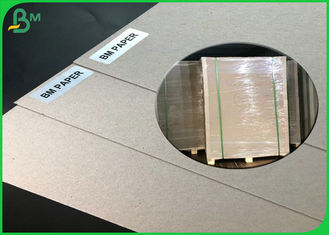 China FSC Certificate Recycled Waste Paper Sheets Grey Carton/ honeycomb board 300g To 2600g supplier