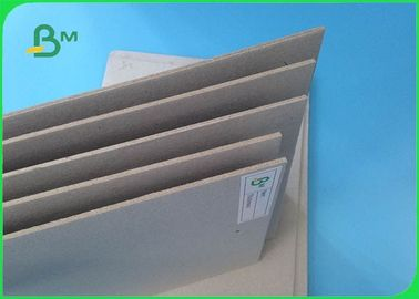 Recycled Pulp 1.0mm 1.5mm Thickness Uncoated Grey Paper Board For Boxes