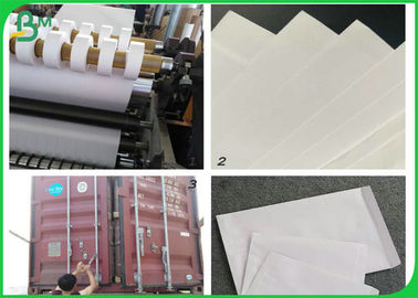 100% Wood Pulp 80gsm Woodfree Printing Paper For Making Envelope