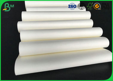 60gsm 70gsm 80gsm 90gsm Uncoated Woodfree Cream Paper Rolls Passed FSC Certification