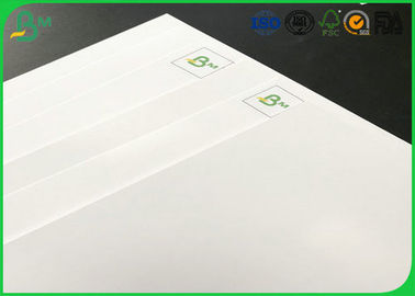 FSC Certificated 80g 90g 115g 135g Double Sides High Coated Glossy Art Paper , C2S Paper