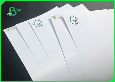 FSC Certified 350gsm Glossy C2S Art Card Paper For Business Cards 720 * 1020mm