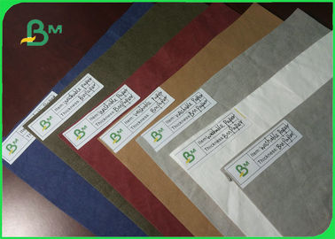 New Type Environmental Custom Size Washable Kraft Paper Fabric For Gift Bag