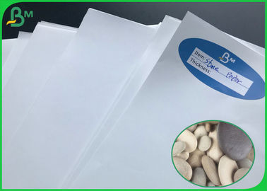 China Eco - Friendly 120G 140G 170G White Tear resistant Paper/ Stone Paper In Sheet supplier