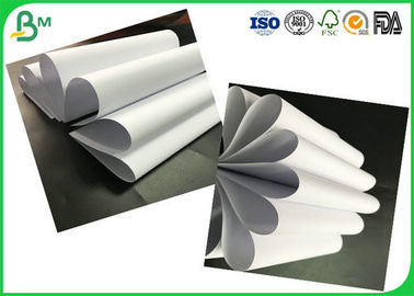 High Smoothness 60gsm - 90gsm Uncoated White Woodfree Printing Paper Rolls Passed FSC Certification