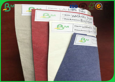 FSC Certificated Tear Resistant Colorful Washable Kraft Paper For Making Bags