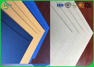 Grade A 1.0mm 1.5mm or Other Thickness Dyed Grey Board With FSC Certification For Packing