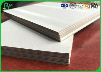 FSC Certificated 1.0mm 1.5mm 2.0mm 2.5mm 3.0mm 3.5mm Grey Chipboard For Packing Box