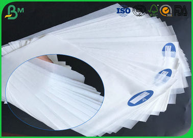 China Degradable 30gsm 35gsm 40gsm White Kraft MG Paper With Grade A For Wrapping Food supplier