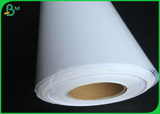 White High Glossy Art Paper / Wood Pulp Photo Paper Roll And Sheet