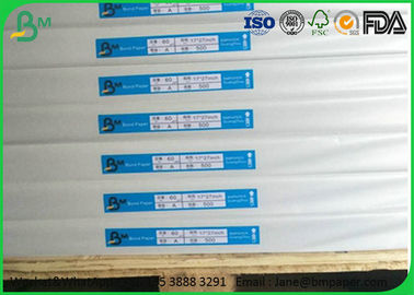 60gsm 70gsm 80gsm Cheap Woodfree Offset Paper with FSC Certification For School Book Printing