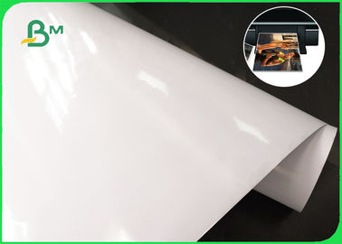 190gsm 240gsm 250gsm RC Glossy Inkjet Satin Photo Paper 24 Inch 36 Inch 30m Length