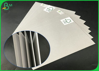 FSC Certificated 1.0mm 1.5mm 2.0mm 2.5mm 70 x 100cm Uncoated Grey Board For Packages Boxes