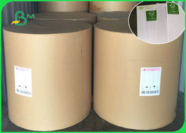 China FSC Approved 60g 70g 80g Uncoated Woodfree Paper Offset Printing In Reel Or Sheet supplier