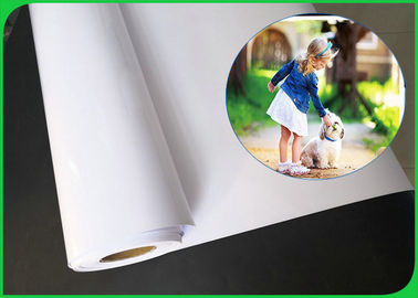 High Glossy 200gsm 250gsm 300gsm 610mm*30m Inkjet RC Photo Paper For Printing