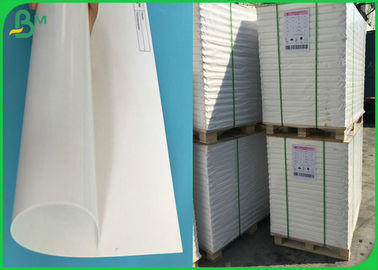 China FSC 115G 120G C2S Gloss Art Paper In Roll 400mm 500mm Sample Free supplier