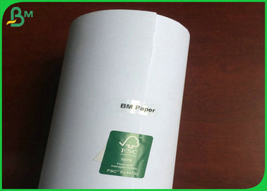 China 24 Inch 36 Inch CAD Plotter Paper Roll For Garment Machine Or Advertising Material supplier