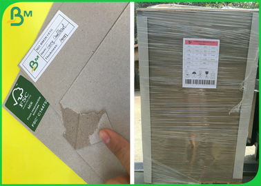 High Density FSC Recycled Laminated Grey Board With 1mm 1.5mm 2mm Thick
