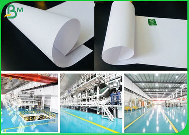 China Good Absorbing Ink Effect Uncoated Woodfree Paper In Reel Or Sheet Package supplier