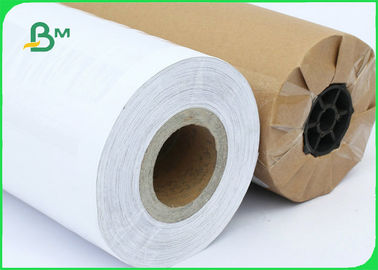 FSC Certified 70gsm 80gsm CAD Inkjet Plotter Paper Roll Size A1 A0 For Drawing