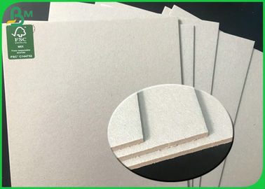 China Smooth Surface 1350GSM 700*100mm Gray Board Sheet with FSC Recycled supplier