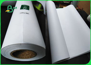 China FSC A1 Engineering Bond Plotter Paper White 80gsm For Garment Factory Mapping supplier