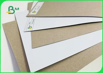 China FSC Certified 250gsm 300gsm 350gsm Coated Duplex Board With Grey Back For Packing supplier