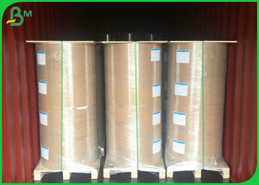China 100gsm - 160gsm Glossy Coated Paper , Greaseproof One Side PE Coated Paper For Food Bag supplier