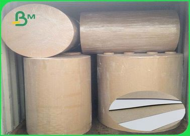 China Great Stiffiness One Side Coated White Lined Grey Board Recycled Pulp supplier