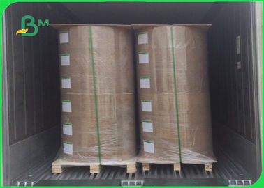PE Coated Kraft Paper Roll Brown Paper 50g Base Paper + 10g PE For Packaging