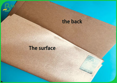 A1 Size 60G 80G 100G 140G 160G Natural PE Coated Paper For Fried Food Wrapping