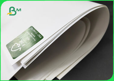 China Moisture And Waterproof Stone Paper 144gsm / 168gsm / 192gsm For Food Packing supplier