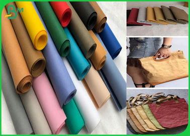 China SGS Approved 75cm * 100M Sewing Washable Fiber Paper With 0.3mm 0.55mm 0.8mm supplier
