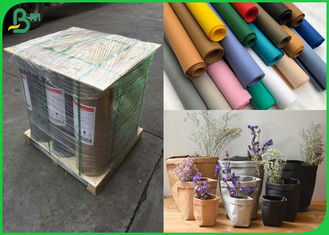 China Different Color Optional 0.55MM Washable Fabric Material Roll For Making Bags supplier