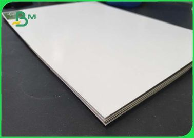 China Smoothness And Soft Coated White Board With Grey Back FSC Approved Different Thickness supplier